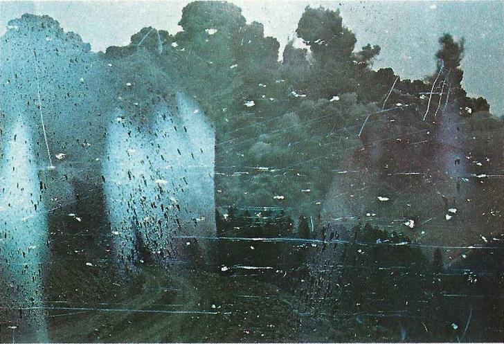 Фото №1 - Проявленные после смерти фотографа снимки, запечатлевшие извержение вулкана Святой Елены