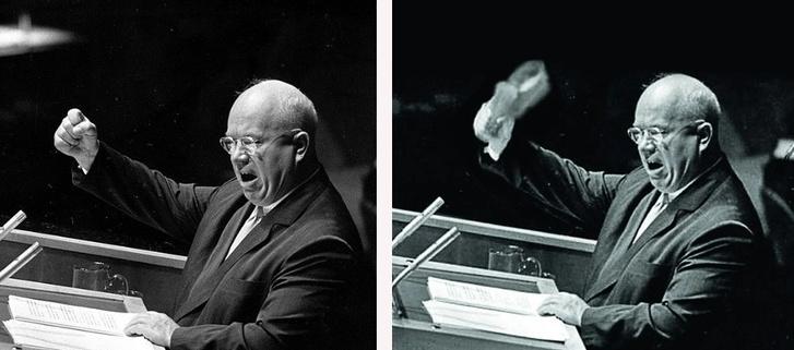 Фото №2 - 61 год громкой истории про то, как Хрущев стучал ботинком по столу в ООН