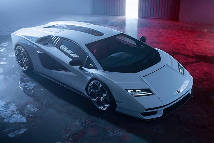Фото №1 - Не бык. Представлен возрожденный Lamborghini Countach