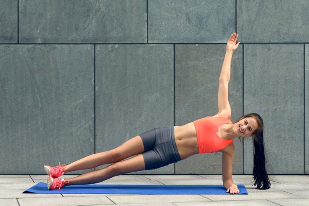Упражнение 6: боковая планка