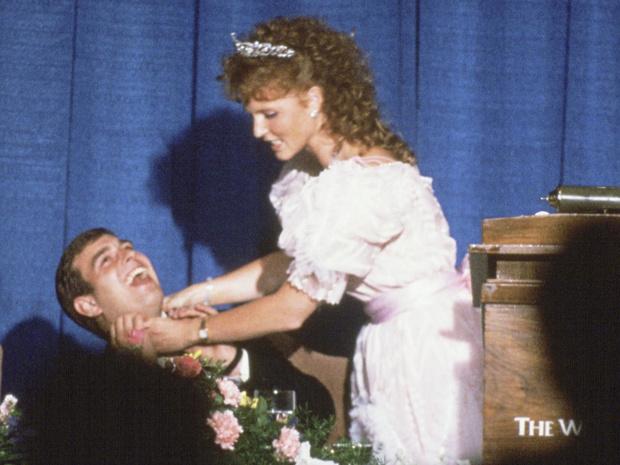 Фото №3 - Идеальная пара: почему Диана завидовала браку Сары Фергюсон и принца Эндрю