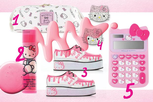 Фото №1 - Топ-10: Вещи с Hello Kitty