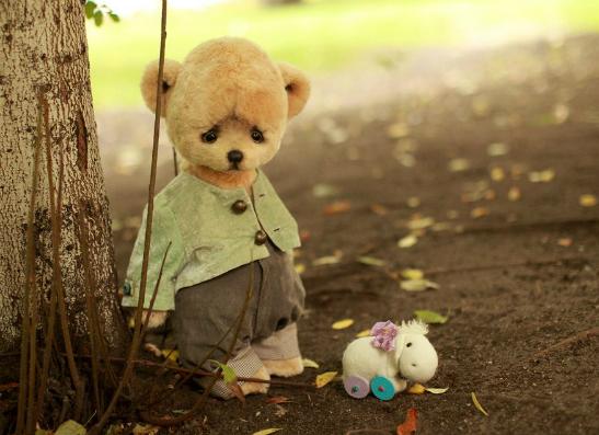 Фото №1 - В Москве открылась выставка Hello Teddy