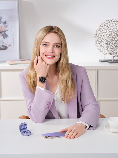 Фото №5 - Наталья Водянова стала амбассадором бренда Samsung Россия