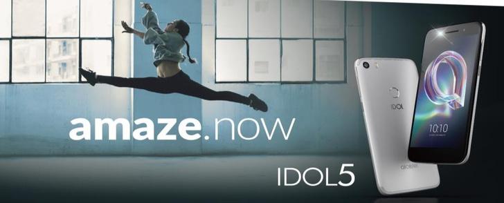 Фото №1 - Alcatel представил супермодный смартфон для молодежи IDOL 5