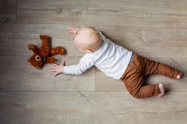 Фото №3 - Развиваем малыша: простые занятия на мелкую моторику и пальчиковые игры
