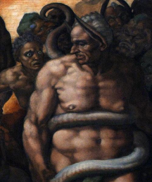 Фото №4 - Обидеть художника: 7 тайн «Страшного суда» Микеланджело