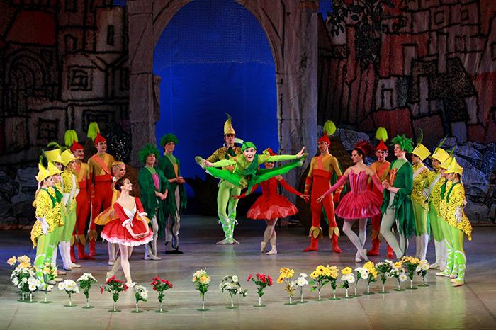 Фото №1 - Балет «Чиполлино» на сцене Театра Сац