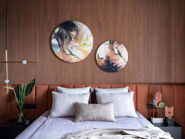 Фото №9 - Квартира для большой семьи с видом на Серебряный бор