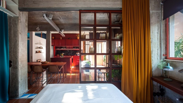 Фото №1 - Бетонная квартира в Афинах