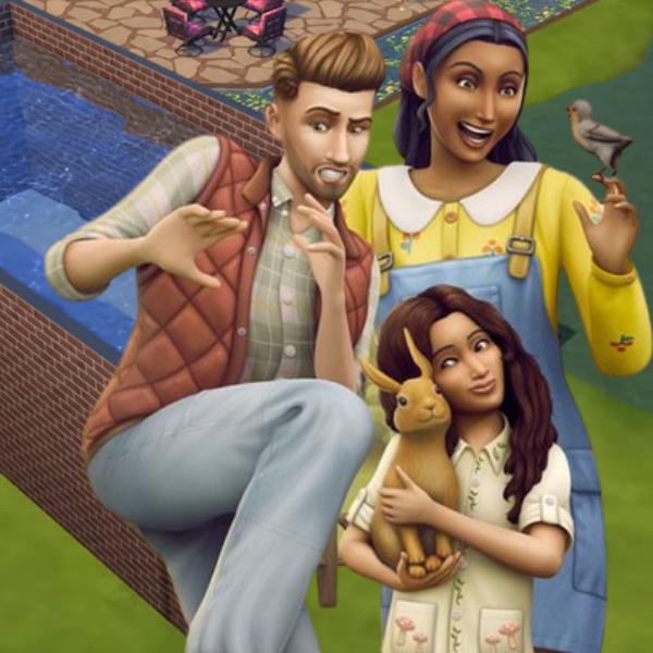 Фото №1 - С новым дополнением The Sims 4 ты можешь превратить дом симов в настоящее озеро!