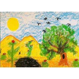 Фото №2 - Дети принца Уильяма и Кейт Миддлтон нарисовали трогательные открытки в память о принцессе Диане