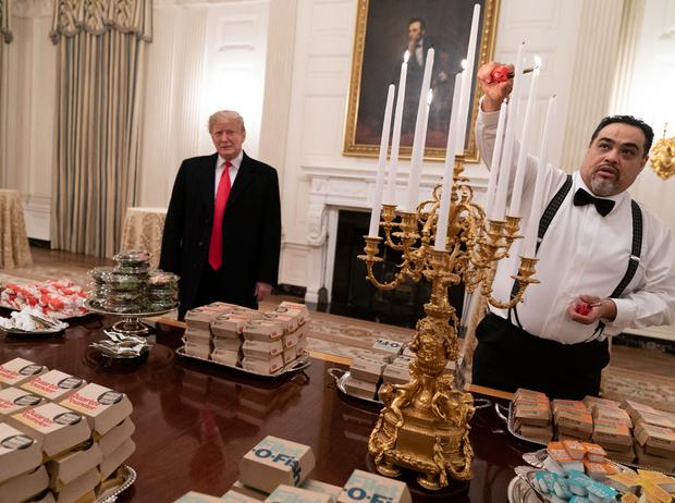 Фото №2 - Как президент Трамп пошутил над диетой жены (но заставил всех смеяться над собой)