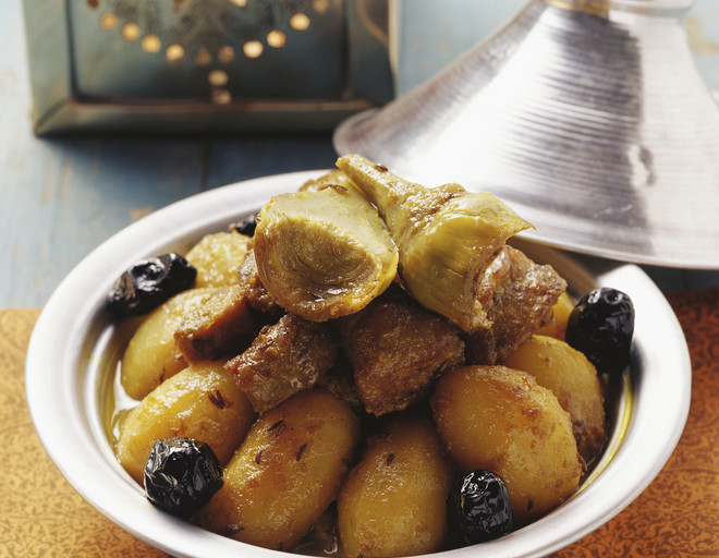 картошка тушеная с черносливом