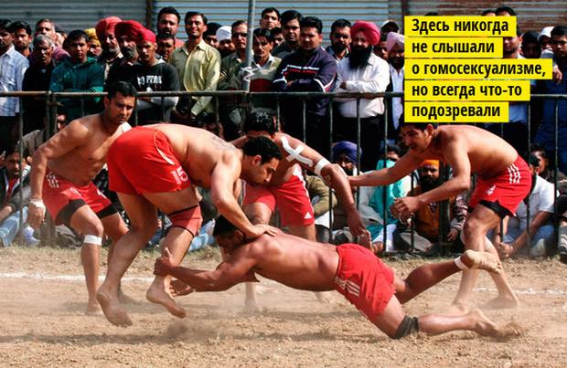 Фото №3 - 5 самых дурацких видов спорта