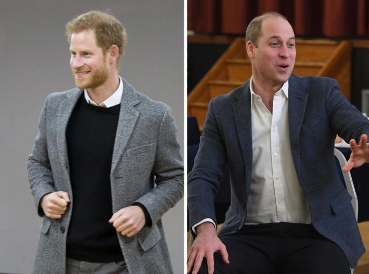 Фото №1 - Как принцы Уильям и Гарри меняют модные правила для мужчин королевской семьи