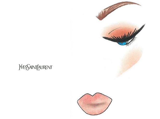 Фото №4 - Праздничный макияж по цвету глаз от визажиста YSL