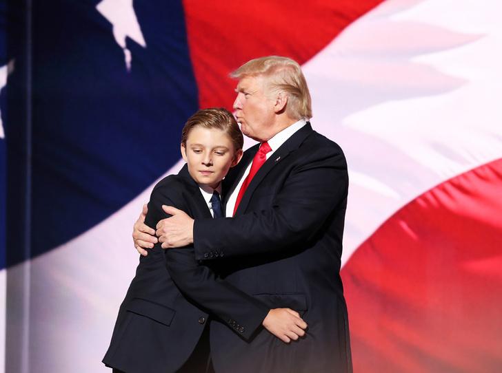Фото №2 - Бэррон Трамп и еще 6 детей президентов США, которым досталось от СМИ