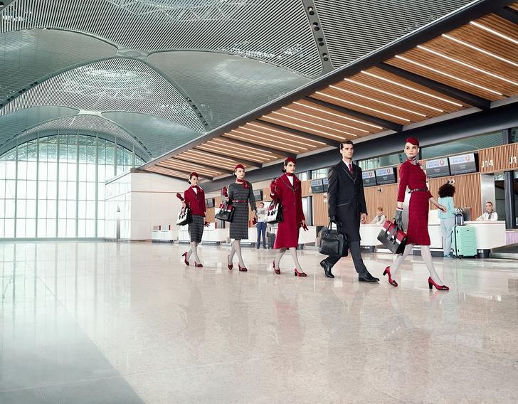 Фото №1 - Вдохновленная Стамбулом: Turkish Airlines представила новую форму