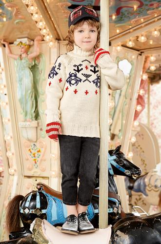 Фото №32 - Золотая карусель: лукбук осенне-зимней детской коллекции Gucci 2016/17