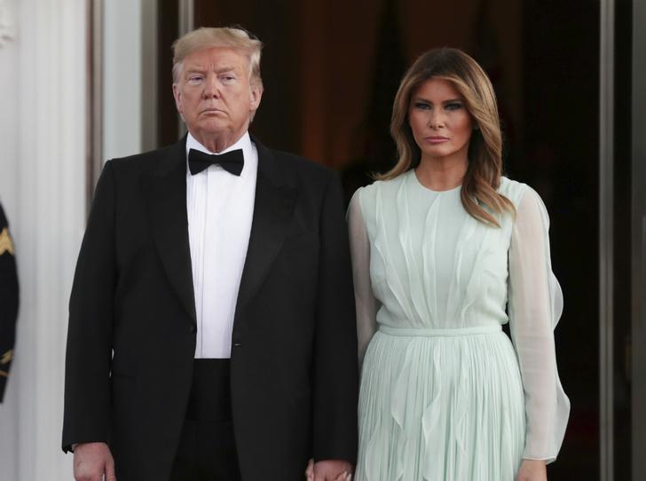 Фото №2 - Что общего у Мелании Трамп и Кэрри Симондс