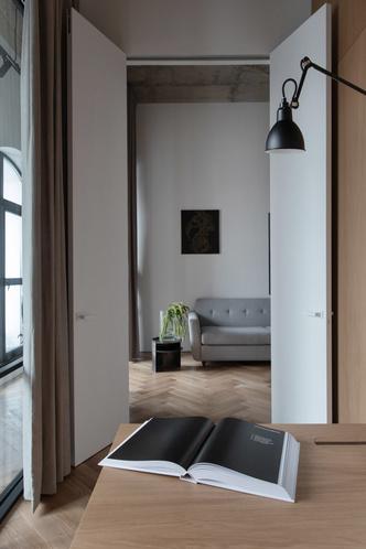 Фото №8 - Минималистичная квартира в лофт-апартаментах в Москве
