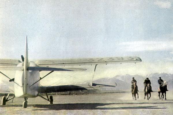 Фото №1 - Самолеты улетают в горы