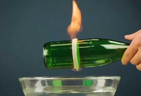 Лайфхак: сделать из стеклянной бутылки стакан (видео)