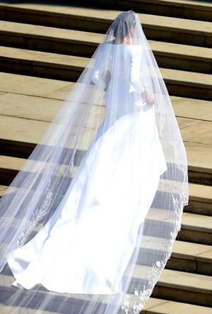 Фото №48 - Свадьба Меган Маркл и принца Гарри: как это было (видео, фото, комментарии)