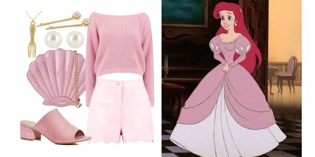 Фото №1 - Что носить весной: 8 модных образов в стиле Принцесс Disney
