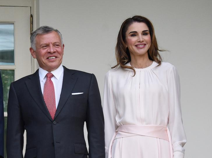 Фото №2 - Как королева Рания поздравила короля Абдаллу II с днем рождения
