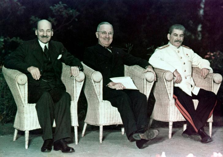 Фото №2 - Решено в Потсдаме: как прошла последняя официальная встреча «большой тройки»