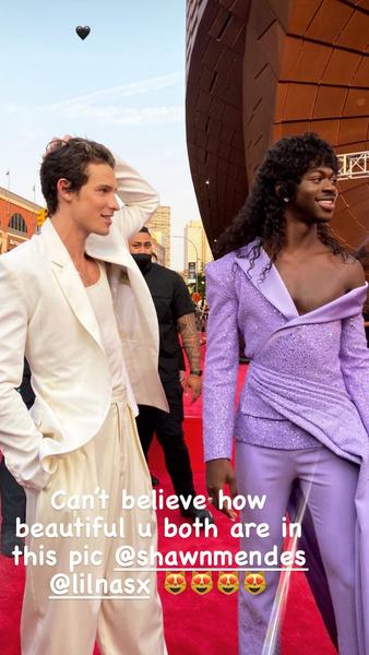 Фото №2 - Камила Кабелло и Шон Мендес появились на красной дорожке премии MTV VMAs не вместе