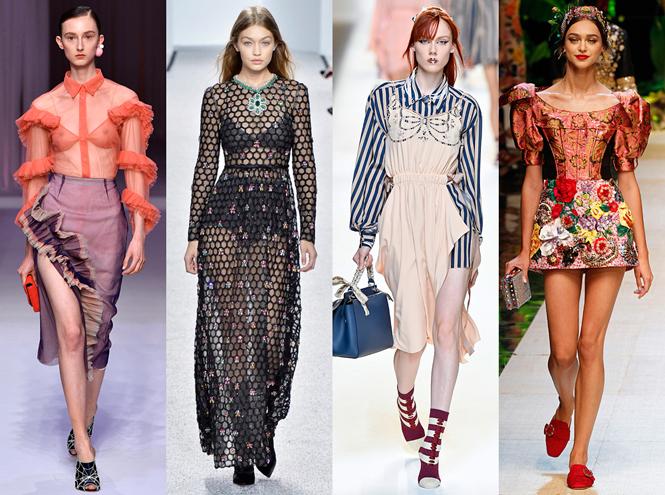 Фото №1 - 8 главных fashion-трендов сезона весна-лето 2017