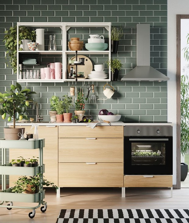 Фото №10 - Растения на кухне: 7 практичных идей