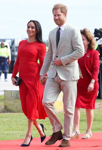 Фото №4 - Лучшие образы Меган Маркл за первый год в королевской семье