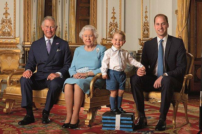 Фото №42 - Принц Джордж Кембриджский: три года в фотографиях