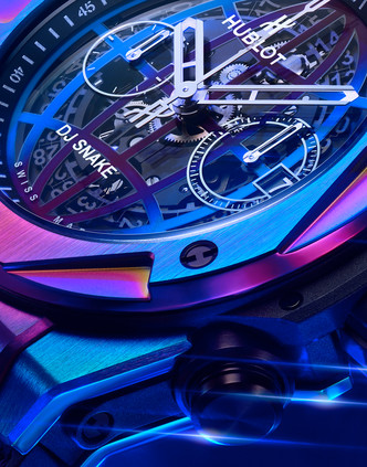Фото №6 - Сила музыки: Hublot выпустил часы совместно с DJ Snake