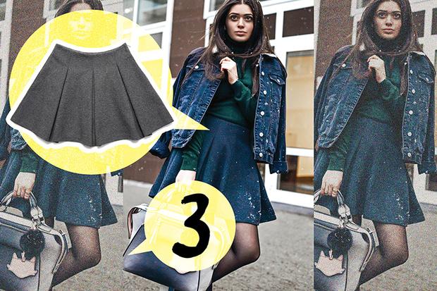 Фото №3 - Стильные образы на неделю из 5 вещей с Кариной Каспарянц