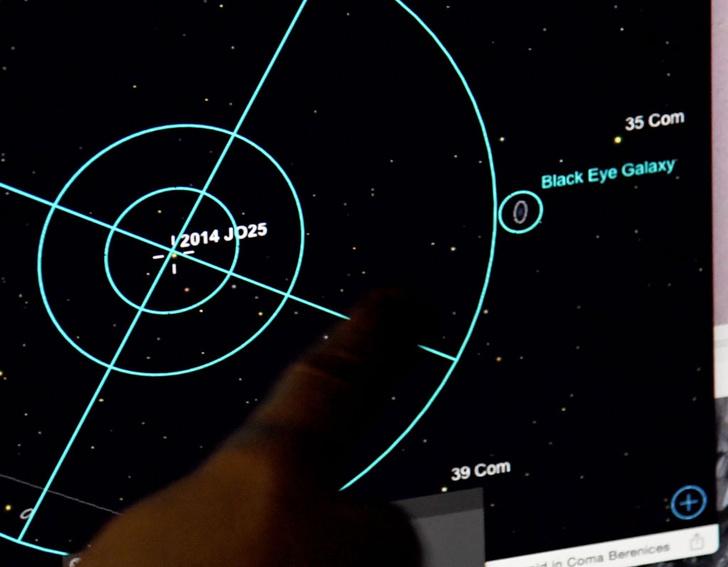 Фото №1 - Астрономы рассказали об опасных астероидах вокруг Земли