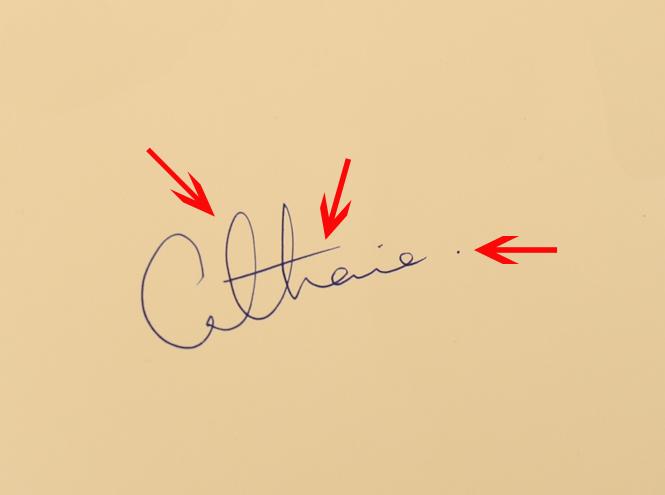 Фото №3 - Что говорят подписи Кейт Миддлтон и принца Уильяма об их браке?