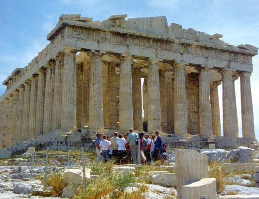 Фото №1 - Белая пыль Акрополя