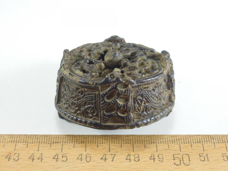 Фото №1 - В Эстонии обнаружили брошь эпохи викингов