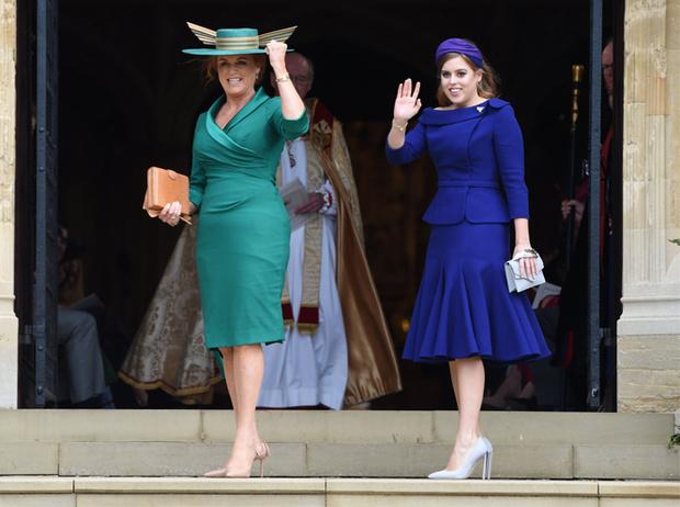 Фото №19 - Самые стильные гости на свадьбе принцессы Евгении и Джека Бруксбэнка
