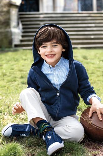 Фото №6 - В школу в поло: детский лукбук осенней коллекции Polo Ralph Lauren
