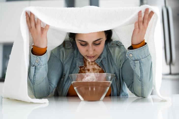 Фото №2 - Ингаляции при простуде: 4 простых рецепта