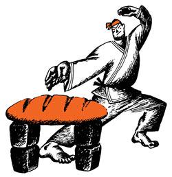 Фото №1 - Почему хлеб черствеет?