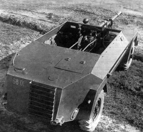 Фото №3 - Катафалк с пушкой: история необычной советской самоходки КСП-76