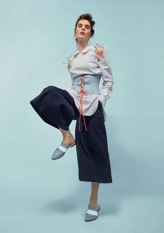 Фото №6 - Капсульная коллекция бренда Olga Skazkina