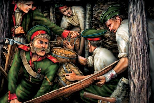 Фото №1 - Мины против пехоты